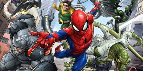 New Spider-man Animated Tv Series Artwork