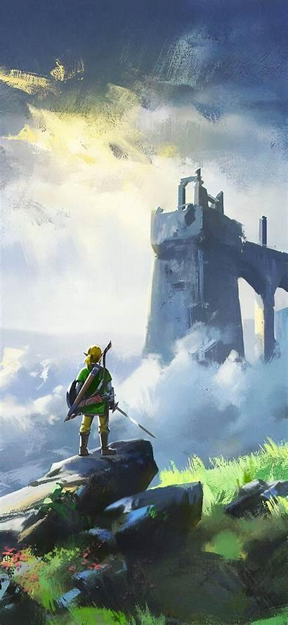 Zelda 4k Iphone Legend Breath Wild Wallpapers