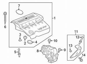 Gmc Terrain Engine Cover  3 0 Liter  3 6 Liter