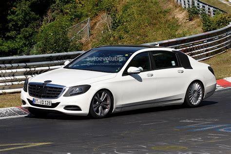 S 560e sedan (long wheelbase) build. Long-Wheelbase S-Class Wafting on the Nurburgring - autoevolution