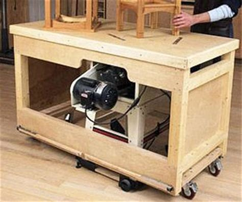 project  knock  table  station woodworking plan garage pinterest table