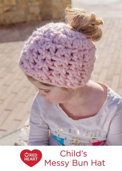 Messy Bun Ponytail Hat Pattern Free