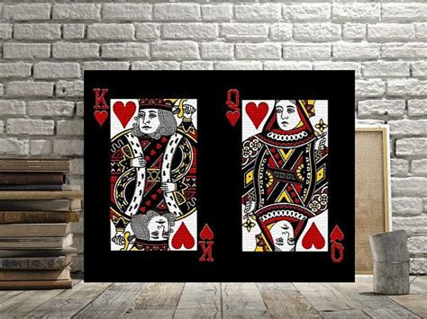 Aqworlds wiki » items » armors » king and queen of hearts. King and Queen of Hearts, Print or Canvas, Poker Player ...