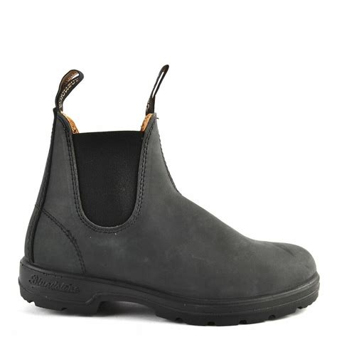 New Blundstone Style Rustic Black Leather Boots For