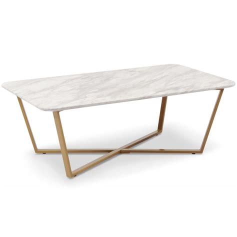 table basse effet marbre table basse effet marbre quot quot 120cm blanc