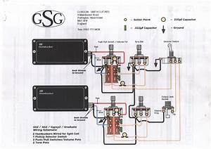 Wiring For Humbuckers With Coil Splits