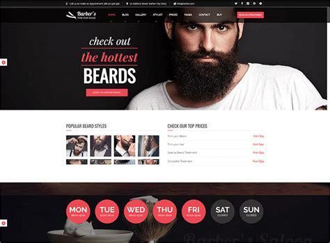 big salon beauty barber site template 21 salon bootstrap themes templates free premium