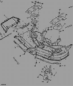 John Deere 60d Mower Deck Parts Diagram