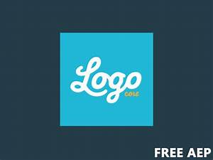 logo animation template free aep by drake dribbble With aep templates free download