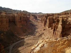Charyn canyon also known as Castle's valley · Kazakhstan ...