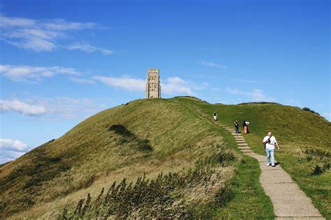 glastonbury england abbey tor kingdom united styleat30 avalon isle arthur king