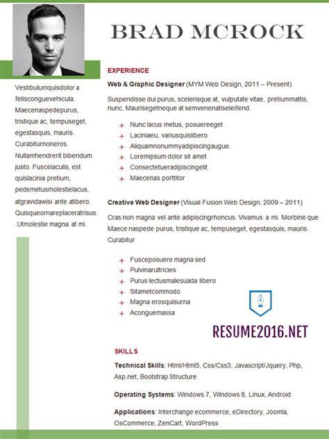 latest resume format   choose