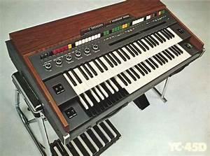 YC-45D. Brian Eno. Philip Glass. | Hammond organ, Philip ...