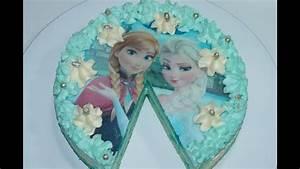 Gâteau Reine Des Neiges : gateau reine des neiges frozen cuisinerapide youtube ~ Farleysfitness.com Idées de Décoration