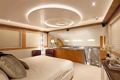 Stunning Interior Design Of The Luxury Yacht Muses