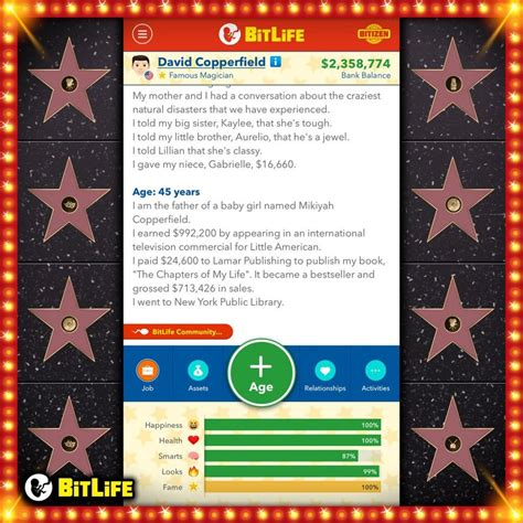 bitlife famous become celebrity superstar updated simulator some singer