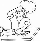 Cooking Coloring Pages Baking Printable Freecoloringpagefun Coloring2print sketch template
