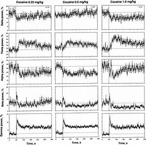 Mean Changes In Individual Eeg Frequencies  Total Power