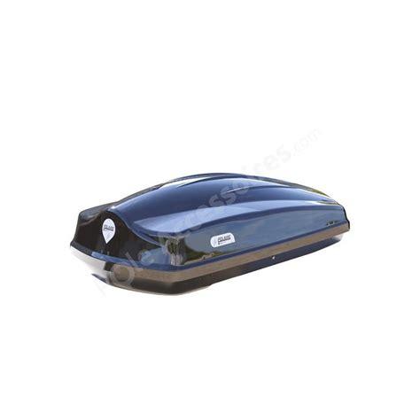 coffre de toit 340 litres voyager noir fixation rapide pole accessoires