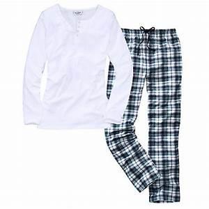 Schlafanzug Damen. comtessa damen flanell schlafanzug kariert pyjama ... 94c4cca750