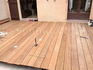 Terrasse En Ipe : construction terrasse bois ip youtube ~ Premium-room.com Idées de Décoration