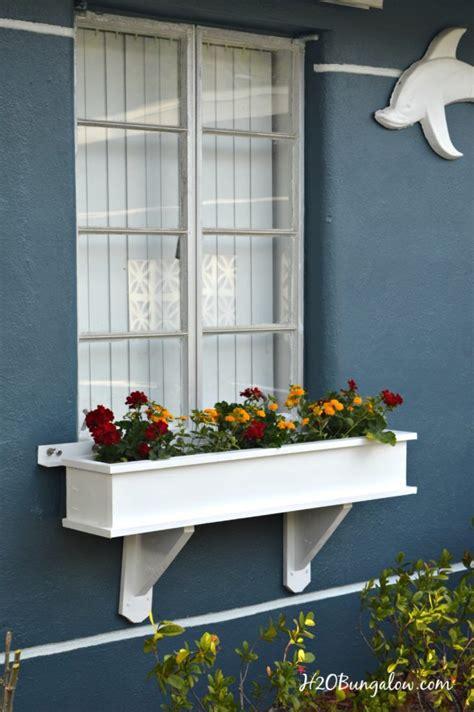 build  flower box planter tutorial hbungalow