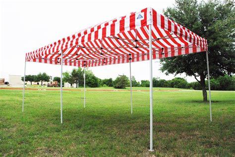 red stripe pop  tent canopy gazebo
