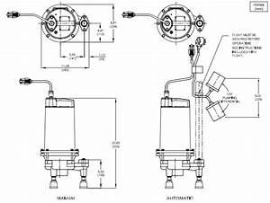 Barnes Pgph Series Grinder Pumps Dimensions