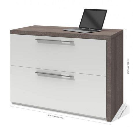 bureau d ordinateur walmart bureau d ordinateur small space de bestar avec classeur