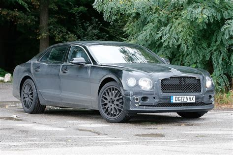 new 2018 bentley flying spur spied for the first time