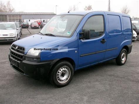 Fiat Doblo Cargo Truck 2003 Box-type Delivery Van Photo