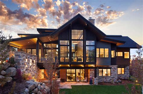 Home Design 02 : Breathtaking Contemporary Mountain Home In Steamboat Springs