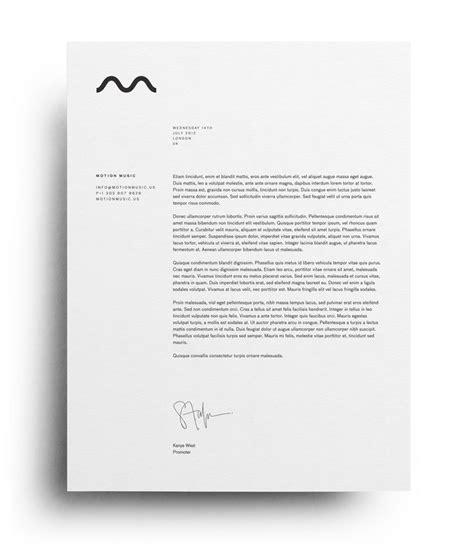 letterhead layout  printable letterhead