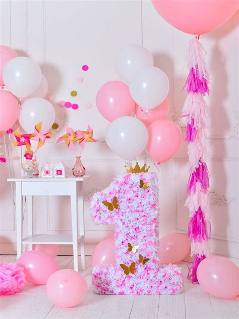 birthday party background balloons backdrop pink backdrops