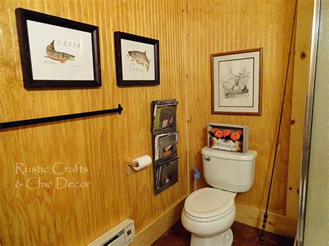 Cabin Bathroom Decor-rustic Crafts & Chic Decor