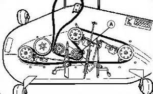 scotts 17 42 riding mower deck belt diagram fixya