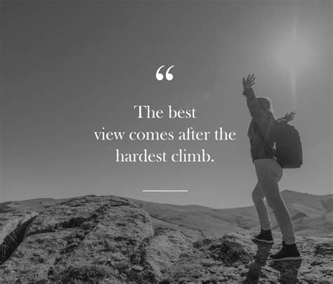 Inspirational Quote: Best View - Lakehouse Recovery Center