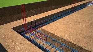 les fondations en 3d d39une maison individuelle je With comment faire des fondations de maison