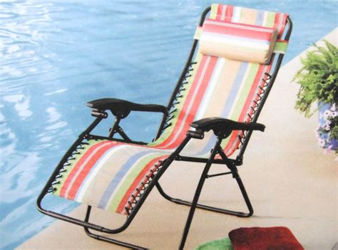 Mainstays Bungee Lounge Chair by Mainstays Lounge Bungee Chair Multi Stripe New Ebay