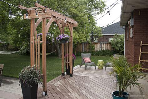 remodelaholic      build  garden arbor