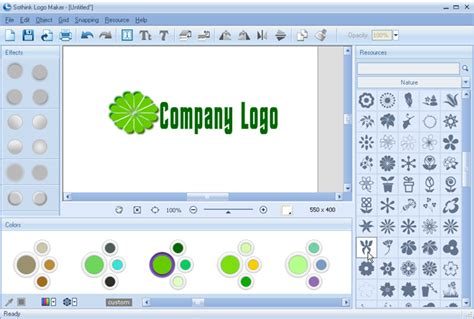 how to make company logo without hard work