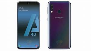 Samsung Galaxy A40 Full Specs And Renders Leaked  25mp