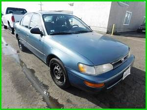 C 1994 Toyota Corolla Dx Used 1 6l I4 16v Automatic Sedan No Reserve