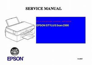 Epson Stylus Scan 2500 Service Manual Pdf Epson