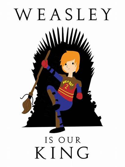 Weasley Potter Harry King Text Crossover Thrones
