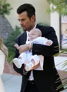 Josh Duhamel in Josh Duhamel & Fergie Take Baby Axl To His ...