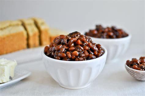 crock pot baked beans from scratch cooker bacon bourbon baked beans