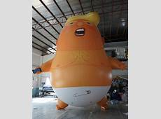 What you need to know about the Trump Baby blimp Media