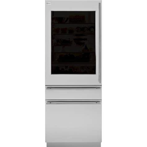 monogram european door panel kit  refrigeratorfreezers blacksilvertransparent