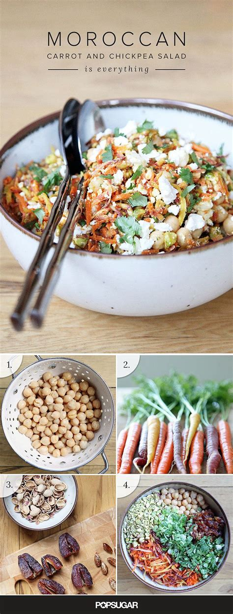 leckere salate rezepte this moroccan carrot and chickpea salad is just lovely